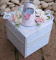 Couture Creations: Baby Keepsake Exploding Box by Jo Piccirilli
