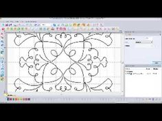Redwork Quilt Design Floriani My Decorative Quilter (MDQ)