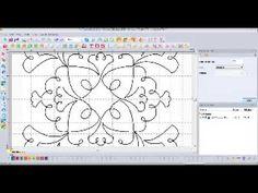 Redwork Quilt Design Floriani My Decorative Quilter (MDQ)