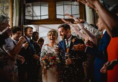Don't let the rain stop a confetti shot! This inspired wedding was insane - go see // Confetti, Rain, Wedding Photography, Inspired, Artist, Inspiration, Rain Fall, Biblical Inspiration, Artists