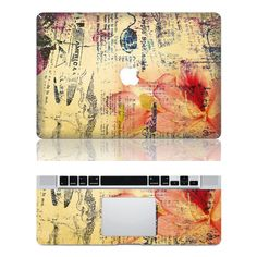 old newspaper macbook cover decals Macbook decals Macbbok pro cover decal Mac stickers Apple decal ipad decal iphone decal. $17.59, via Etsy.