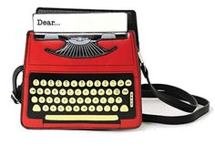 Amazon Oddities 4/30/17 -- Typewriter Purse http://www.mashupmom.com/amazon-oddities-43017-typewriter-purse/