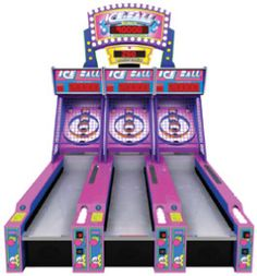 ICE Ball Alley Roller Ticket Redemption Arcade Game From ICE / Innovative Concepts In Entertainment