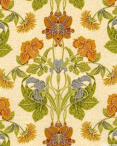 Grandeur - Art Nouveau Bouquet - Spice/Gold
