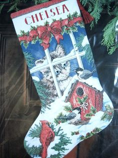 Image result for images of christmas stockings with chelsea name