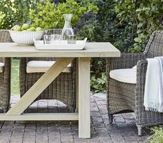 Our days are better when they've involved lots of fresh air. So update your garden outdoor furniture or even just your conservatory furniture and watch your garden grow.
