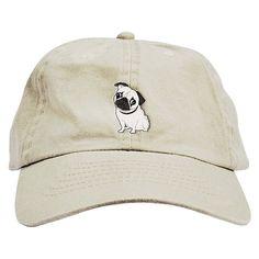 Pug padre sombrero de béisbol casquillo bajo perfil Cascadas f5ed03d4383
