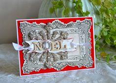 Blomsterbox: Glitter kort