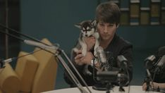 Cutest gif of James and Fox <3