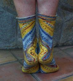 Love the way the yarn pooled