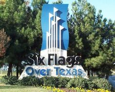 Six Flags Over Texas - Arlington TX  I remember when our parents dropped us off before the gates opened, picked us up at 10:00 when it closed, all for a 9.99 hand stamp...ALL rides included!