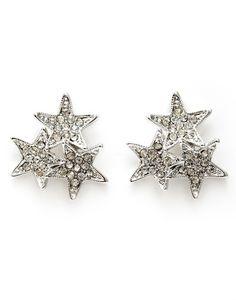 Lisette Stud Earrings in Silver Fashion Accessories, Fashion Jewelry, Rihanna, Brooch, Stud Earrings, Womens Fashion, Silver, Gifts, Dress