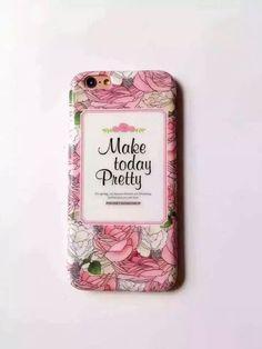 Floral Scrub Surface Iphone 6/6s Bumper Case