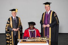 Sky at Night presenter Dr Maggie Aderin-Pocock receives honorary doctorate for services to science.
