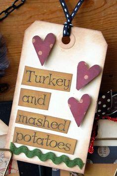 really cute menu board