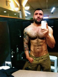 Gym otter Hot, sexy, men, guy, gay, muscle, body, hairy, male, hunk, stud, hairy, beard, ink, tattoo