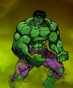 The hulk by judemillien on DeviantArt