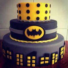 That's a great Batman cake idea!!!