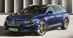 Renault has released pictures wagon version of the sedan the 2016 Renault Talisman Estate. Both products Renault will debut for the first time at the Frankf