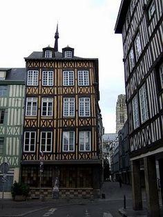 Rouen - where Joan d'Arc met her fate
