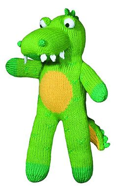Zubels Sweet Tooth Al the Alligator | Cow & Lizard Toy Store