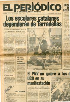 Jueves 26 de octubre de 1978 y 20 pesetas de precio. 36 páginas.