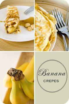 Caramelised Banana Crepes