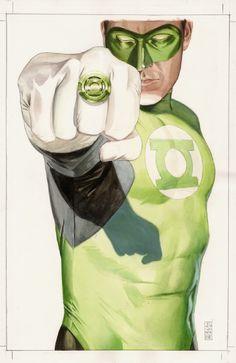 Original Comic Art titled JG Jones - Final Crisis Green Lantern Cover, located in Jeff's SOLD! Dc Comics Superheroes, Dc Comics Characters, Dc Comics Art, Marvel Dc Comics, Green Lantern Hal Jordan, Green Lantern Corps, Green Lanterns, Dc Heroes, Comic Book Heroes