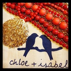 #corallyyours #chloeandisabel #coral #gold