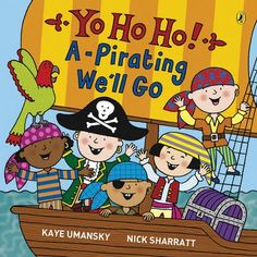 5 A Day Books: Week 7: Pirates!