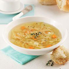 Soupe au chou à la mijoteuse - 5 ingredients 15 minutes