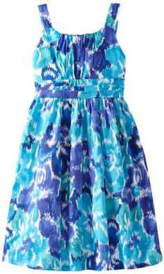 Kids dresses - Pin It :-) Follow Us :-))   CLICK IMAGE TWICE for Pricing and Info... SEE A LARGER SELECTION of  kids dress at  http://azdresses.com/category/dress-categories/dresses-by-type/kids-dresses/  - baby girl, toddler dress , dresses, dress, kids dress  -Rare Editions Girls 7-16 Floral Print Dress, Blue/Turquoise, 10 « AZdresses.com