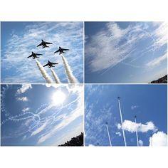 【enotchi_930】さんのInstagramをピンしています。 《Sunday, Oct. 16, 2016 #コンデジの限界 笑 ーーーーーーー✈︎ カメラがどうのこうのじゃなくて、 速すぎて撮れん😂 ーーーーーーーーー✈︎ 天気は最高でした! ーーーーーーーーーーーー✈︎ またそのうち、広報館で子どもたちにつなぎ着せてコックピットに座らせてあげようと思います☺︎ #blueimpulse#skyblue#sky#airfesta#ブルーインパルス#空色#空#キューピッド#桜#エアフェスタ#エアフェスタ浜松#エアフェスタ浜松2016#2016秋#浜松基地航空祭#航空自衛隊浜松基地#浜松基地#浜松#》