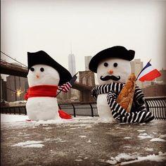Bonhomme de neige USA France