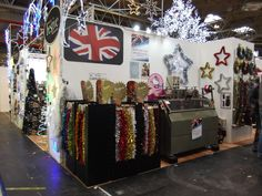 Festive tinsel made in the UK and tinsel machine!