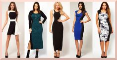 Universally-flattering party #dresses for every body shape- Optical illusion dress. #style #fashion #clothing #trends