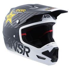 Answer Racing Evolve 3 Rockstar Mens Off Road Dirt Bike Racing Motocross Helmet