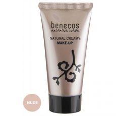 Benecos Flawless Face Matte Foundation Nude|poeder & foundation|make-up|mooi & gezond - Vivolanda