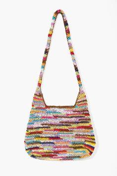 Rainbow Woven Bag