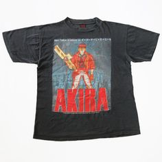 fa8fdced Vtg 90s AKIRA 1988 Committee Fashion Victim T-Shirt Japan Anime Manga Rare  OG L
