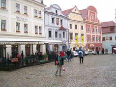 plaza de Czesky Krumlov