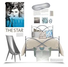 """""""The Star'"""" by dianefantasy ❤ liked on Polyvore featuring interior, interiors, interior design, home, home decor, interior decorating, Berkshire Blanket, Donna Karan, Bandhini Homewear Design and Designers Guild"""