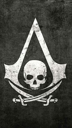 Assassins Creed IV Black Flag - make it the skeleton image from the main game and its perfect Tatouage Assassins Creed, Assassins Creed Tattoo, Arte Assassins Creed, Assassins Creed Black Flag, Black Flag Logo, Black Flag Tattoo, Assesin Creed, All Assassin's Creed, The Assassin