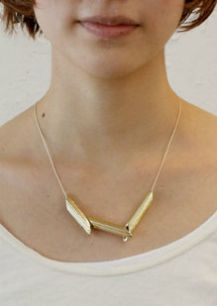 Pasta necklace by Teruhiro Yanagihara Reduce Reuse Recycle, Kwanzaa, Noodle, Diy Fashion, True Love, Art For Kids, Arrow Necklace, Jewelry Making, Pasta