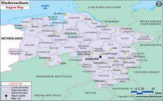 niedersachsen map