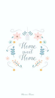 Sweet home - illustration - Marion Blanc