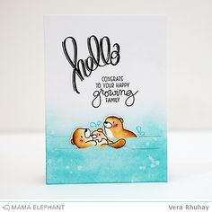 STAMP HIGHLIGHT : OTTERLY ADORABLE