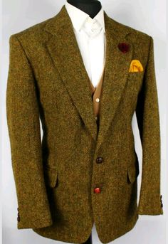 Harris Tweed herringbone