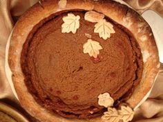 Nonni's Pumpkin Pie - caradifalco.com My great-grandmother was an amazing cook - and she liked to be the best one in the family - and she was! Her pumpkin pie was always one of my favorite parts of Thanksgiving but it wasn't until she passed away and we were cleaning out her kitchen that we found her recipe! I try my best to do it - and her - justice.