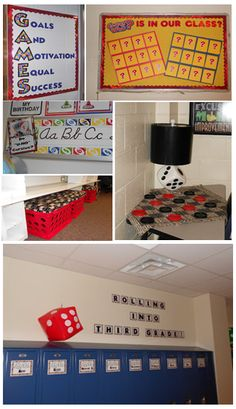 Game-Themed Classroom